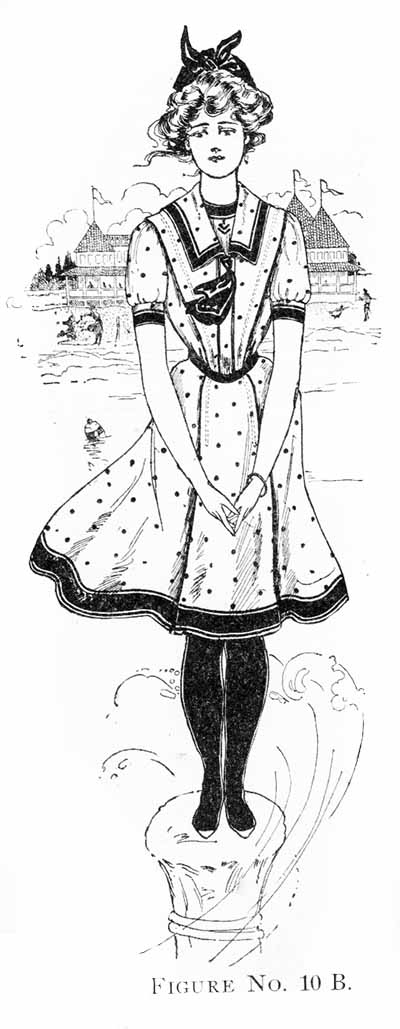 1902 bathing dress