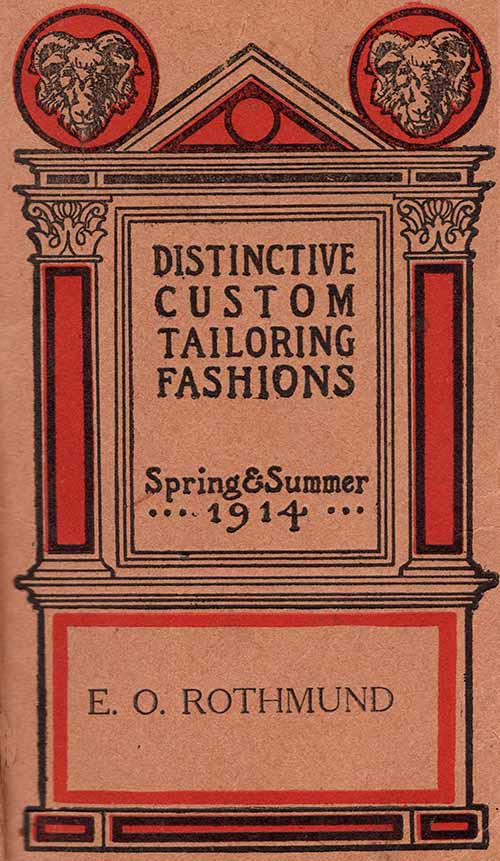 1914 tailoring booklet